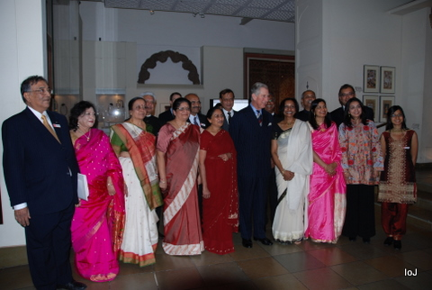 The Prince Meets IoJ Directors & Their Wives